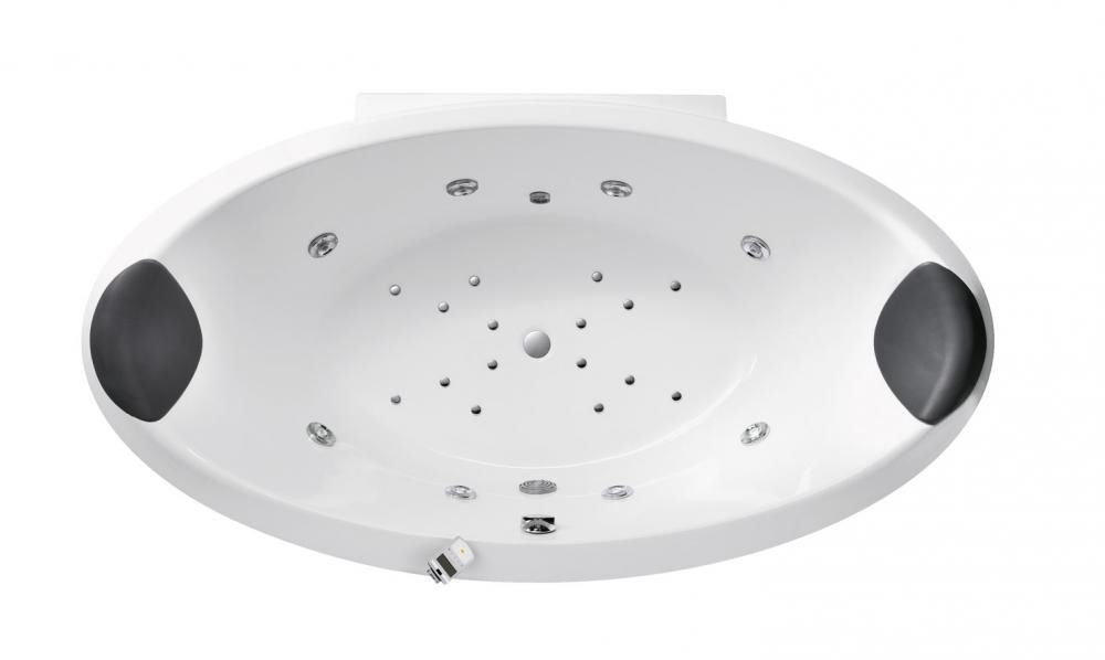 Vasca Da Bagno Glass Astor : Vasca da bagno da appoggio ovale in acrilico per