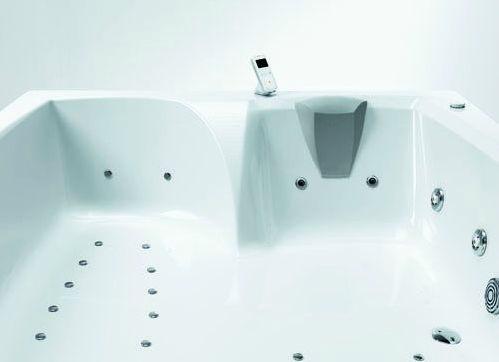 Vasca Da Bagno Glass Astor : Vasca da bagno da appoggio dangolo in legno in acrilico