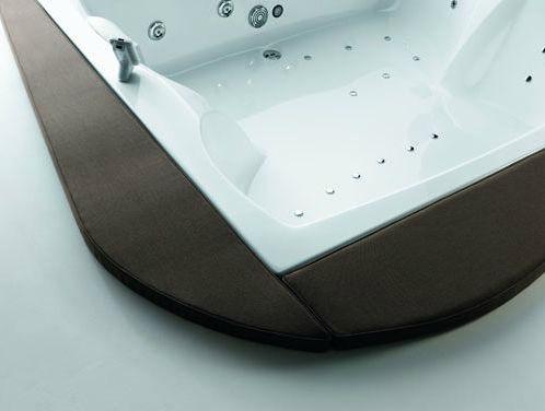 Vasca Da Bagno Glass Astor : Vasca da bagno da appoggio d angolo in legno in acrilico