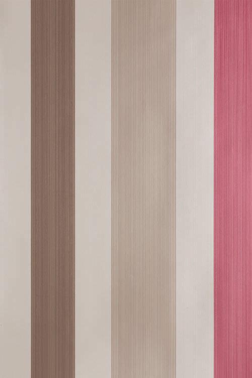 Carte da parati in tessuto / classiche / a righe   chromatic ...