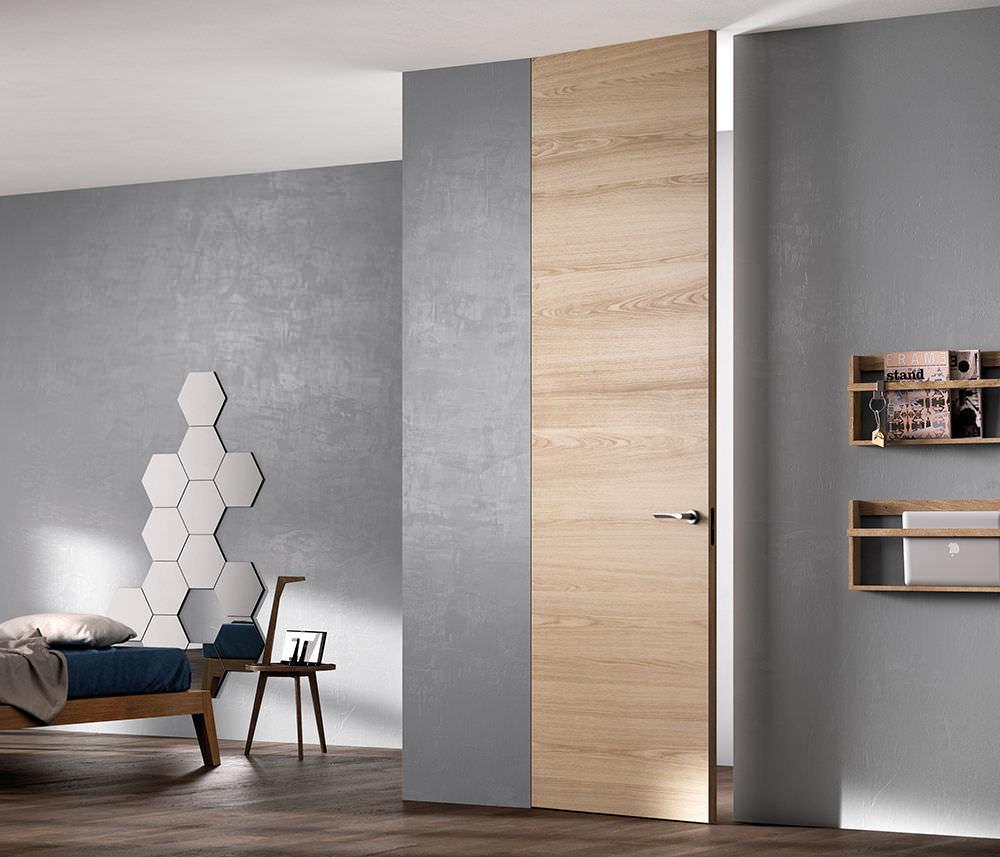 Porta da interni / battente / in legno / a tutta altezza - EXIT ...
