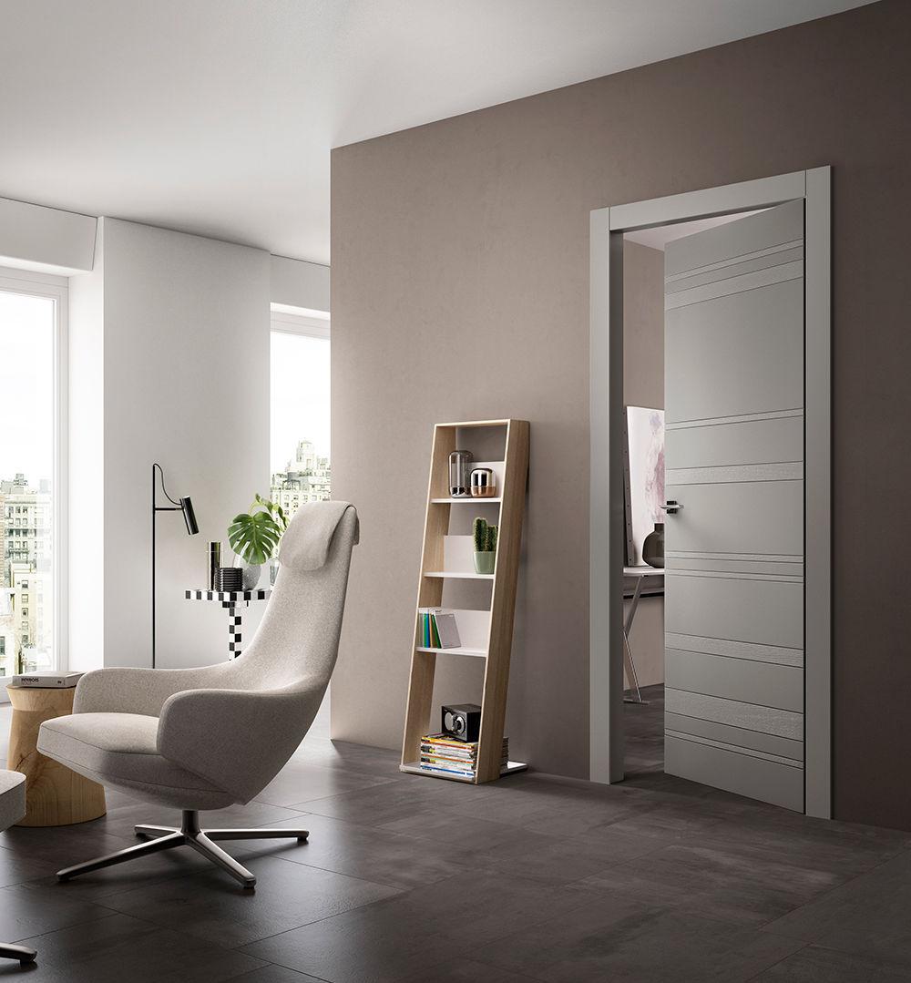 Porta da interni / battente / in legno - EQUA STYLA - FerreroLegno