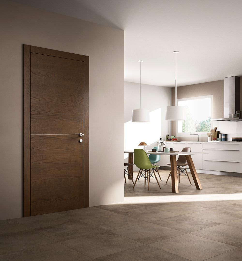 Porta da interni / battente / in legno - EQUA / 1 - FerreroLegno