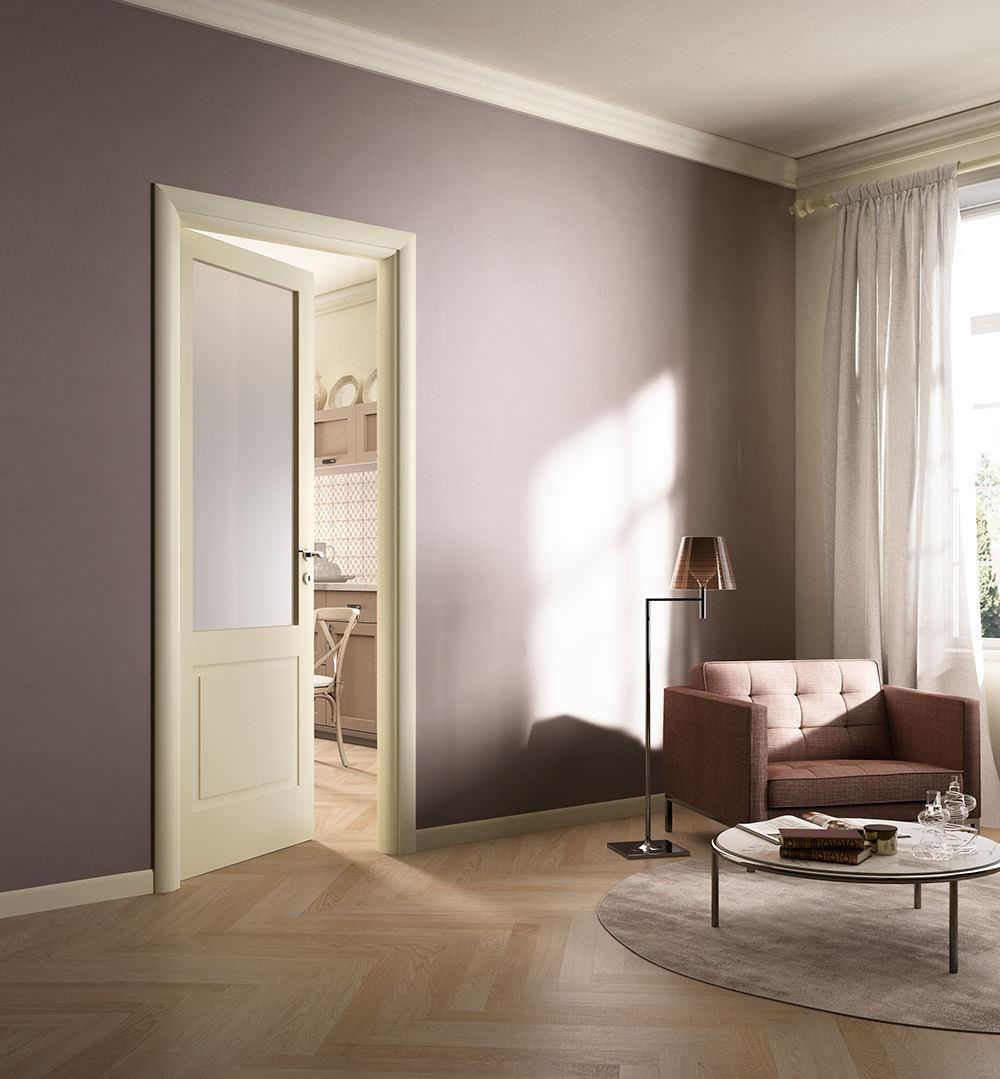 Porta da interni / battente / in legno - SUITE / 6 - FerreroLegno