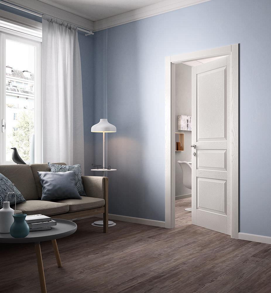 Porta da interni / battente / in legno / vetrata - SUITE / 27 ...