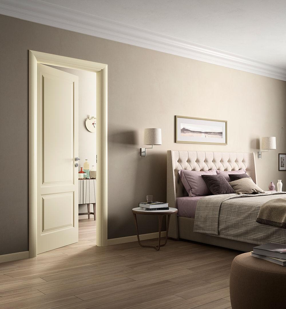 Porta da interni / battente / in legno - KEVIA / 2 - FerreroLegno