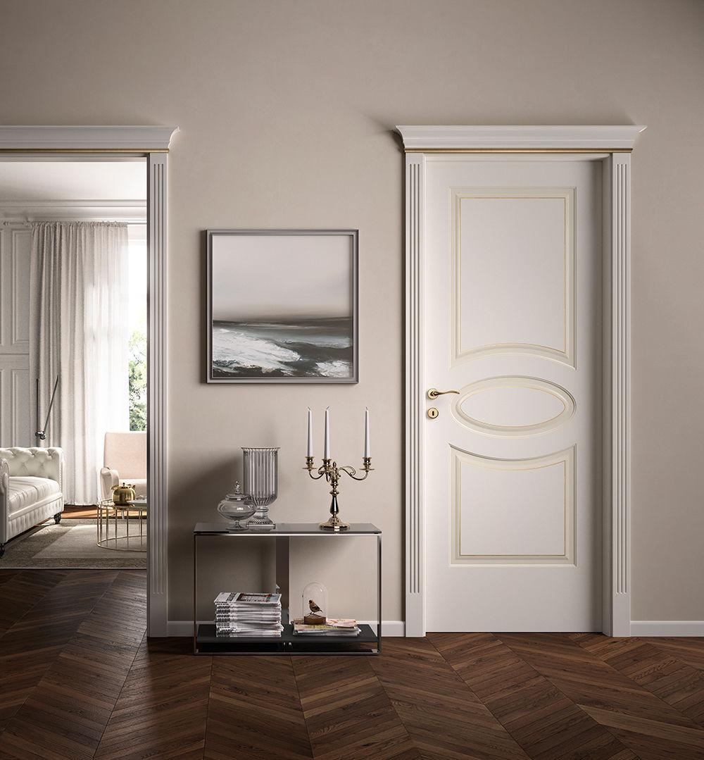 Porta da interni / battente / in legno - KEVIA / 8 - FerreroLegno