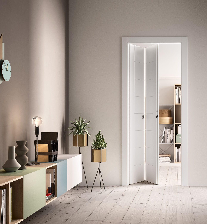 Porta da interni / a libro / in legno - INDUE - FerreroLegno