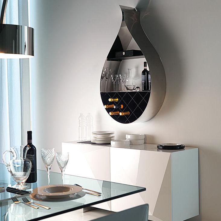 Mensola / design originale / in acciaio inossidabile / in acciaio ...