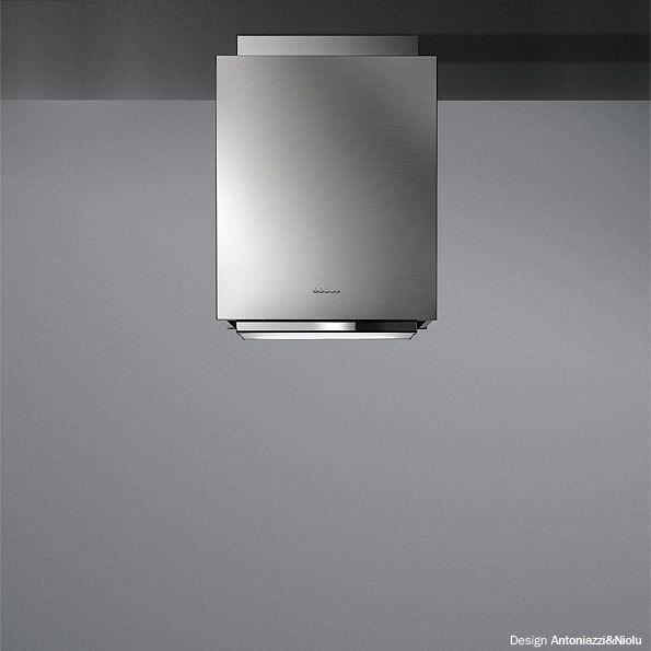 Cappa a isola / con illuminazione integrata - DESIGN+ : MENHIR by ...