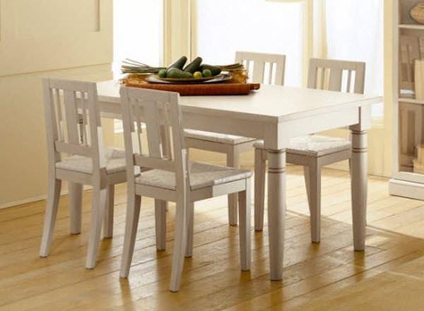 Tavoli Da Pranzo Classici : Tavolo da pranzo classico in legno rettangolare