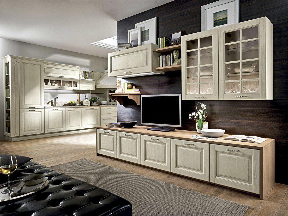 Mobile Tv Cucina. Cool Costruire Un Mobile In Legno With Mobile Tv ...