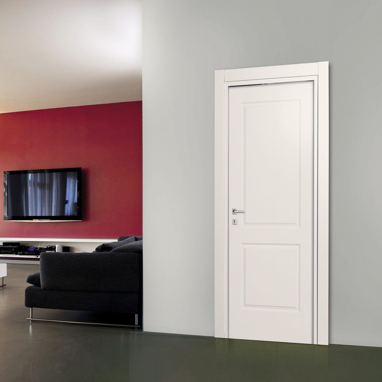 Porta da interni / battente / in legno / laccata - AMERICA - Dierre
