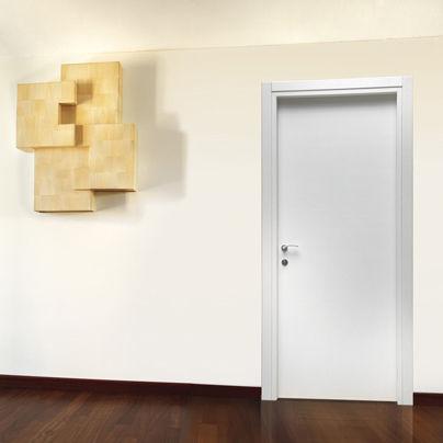 Porta da interni / battente / scorrevole / in melamminico - NEW SKY ...