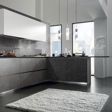 Cucina moderna / in laminato / a L - CRETA CORNER by Centro Ricerca ...