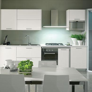 Cucina moderna / in legno / laccata / opaca   maratea by centro ...
