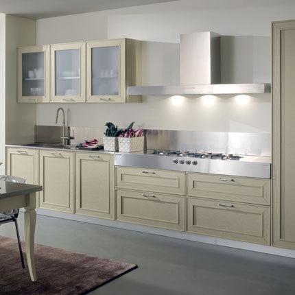 Cucina classica / in acciaio inox / in legno massiccio   capalbio ...