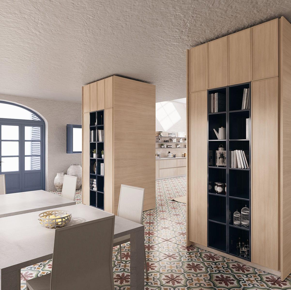 Cucina moderna / in legno / con isola - CRETA FRAME by Centro ...