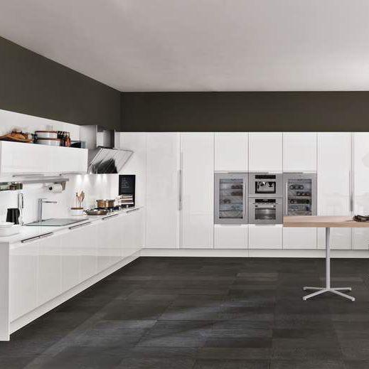 Cucina moderna / in laminato / a U / laccata - CHANTAL by Alfredo ...
