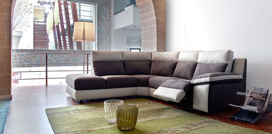 divano d'angolo / moderno / in pelle / 4 posti - taylor - caliaitalia - Moderno Ampio Angolo Divano In Pelle A 5 Posti