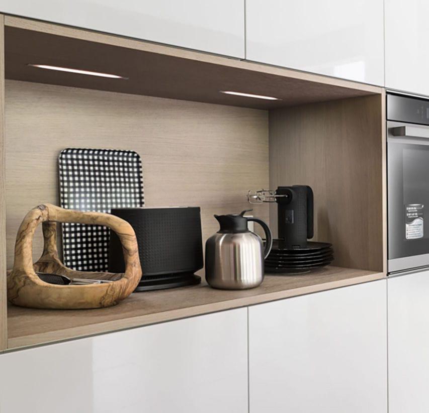 Luce ad incasso / LED / lineare / da cucina - MALINDI - Zecchinon