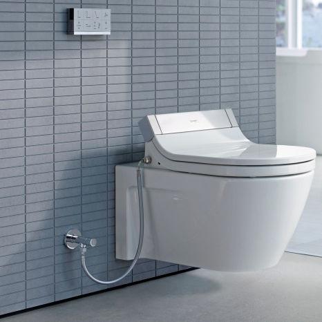 WC sospeso / in ceramica / con sciacquone ad incastro - 253359 by ...