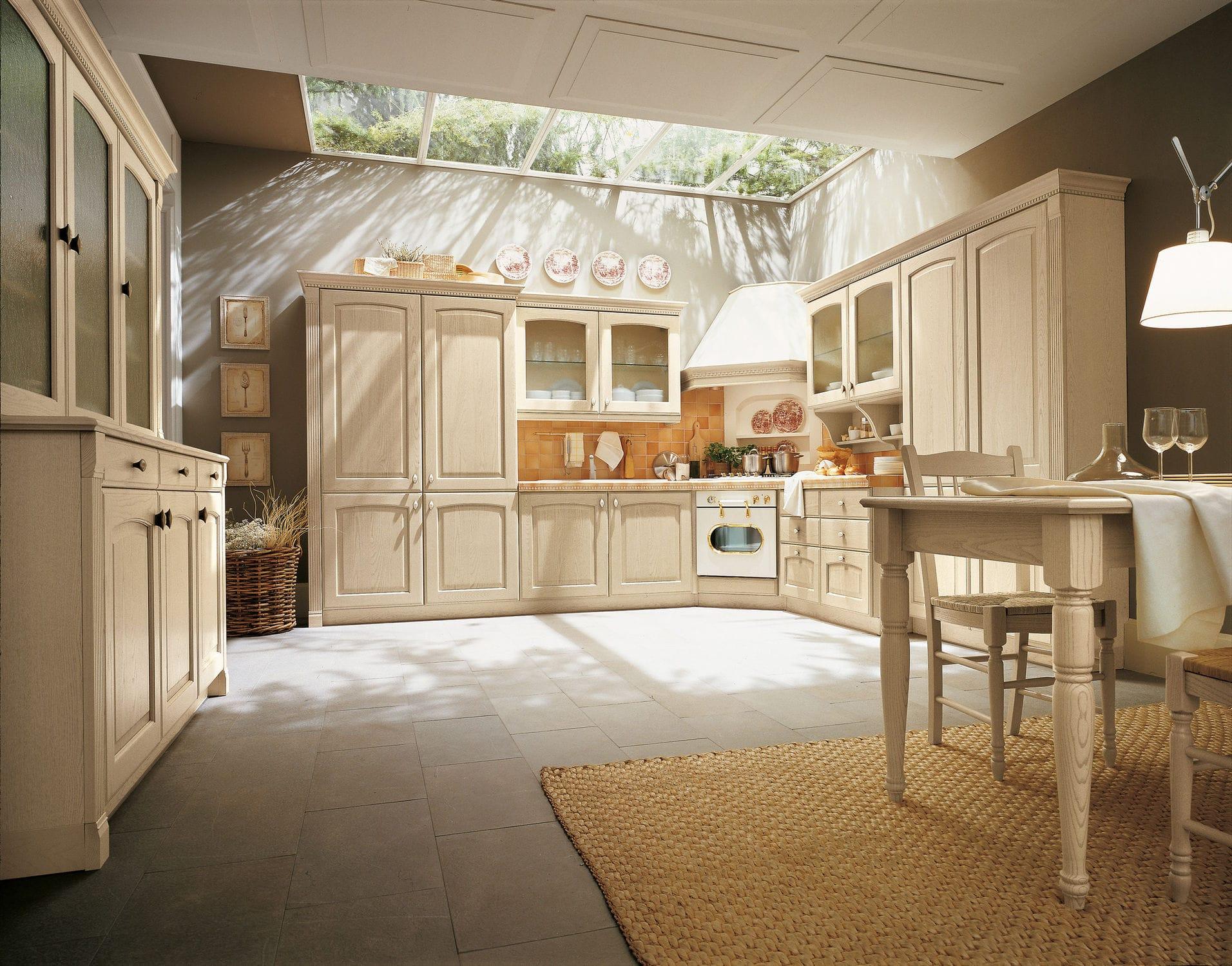 Cucina classica / in legno massiccio / in frassino - NENE\' 2.0 ...