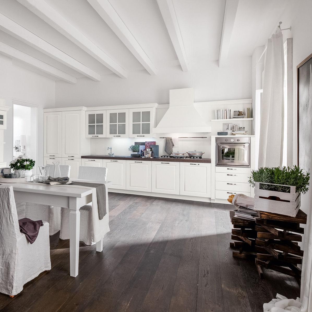 Cucina classica / in legno massiccio / laccata - MICOL 2.0 - Record ...