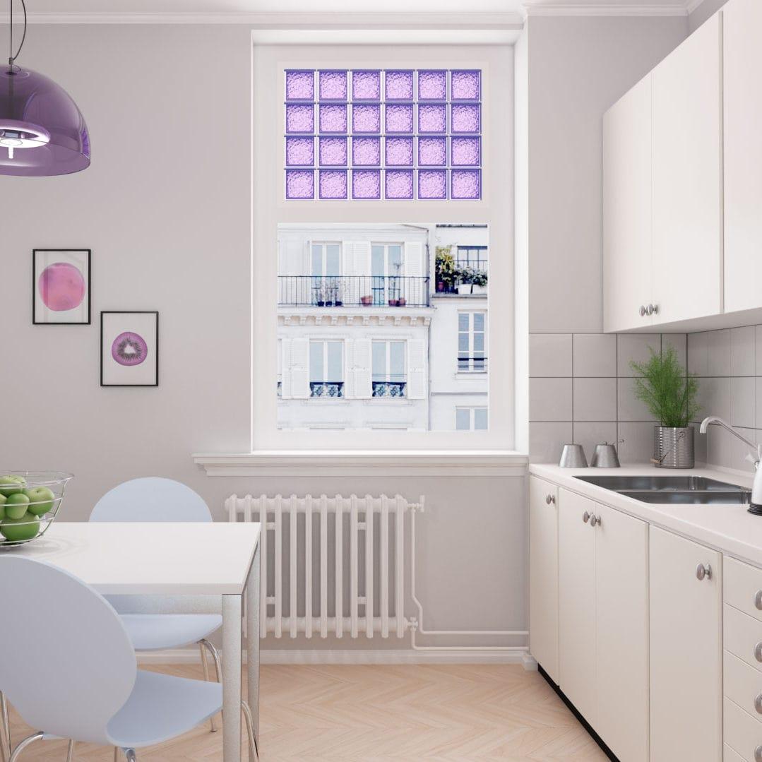 Bagno In Camera Con Vetro : Mattone di vetro quadrato per stanza da bagno per muro interno