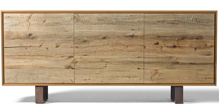 Credenza Moderna Marrone : Credenza moderna in legno marrone a dale italia