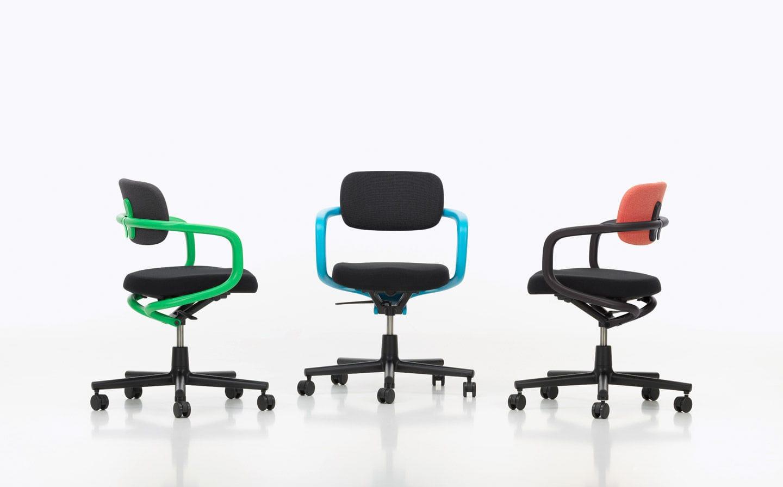 Sedie Ufficio Vitra : Sedia da ufficio moderna regolabile imbottita con braccioli