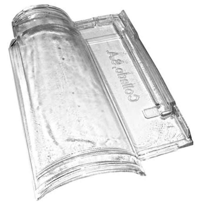 Tegole marsigliesi di vetro
