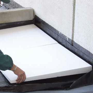 Isolante termico / in polistirene espanso / per tetto / in pannello ...