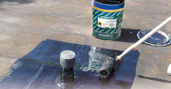 Membrana impermeabilizzante bituminosa / per tetti / per muro di ...