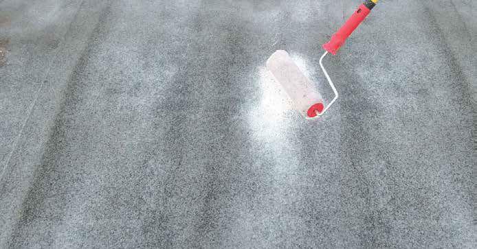 Pittura Per Cemento Armato : Pittura di protezione resistente a carichi elevati per