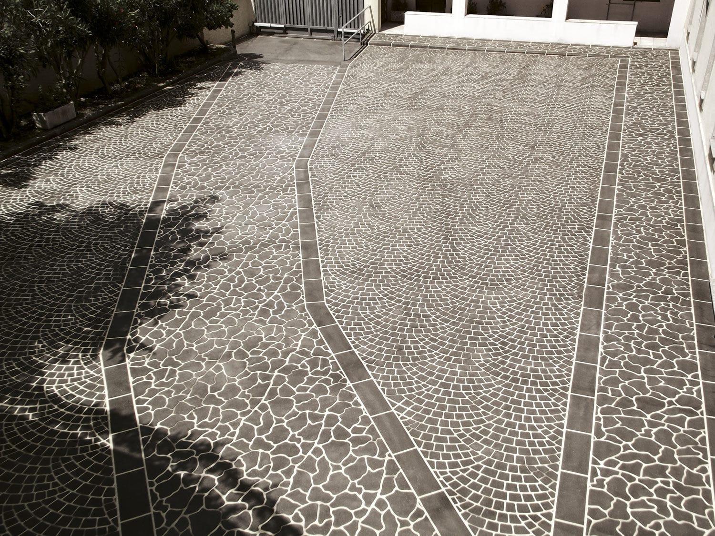 Pavimento Calcestruzzo Stampato : Pavimentazione in calcestruzzo stampato per il settore terziario