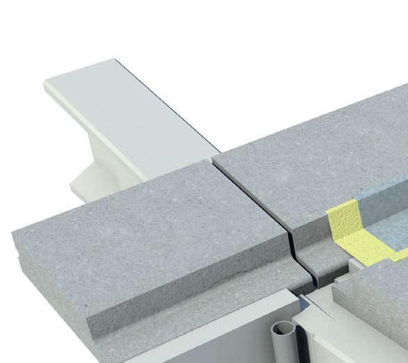 Tetto prefabbricato cemento armato