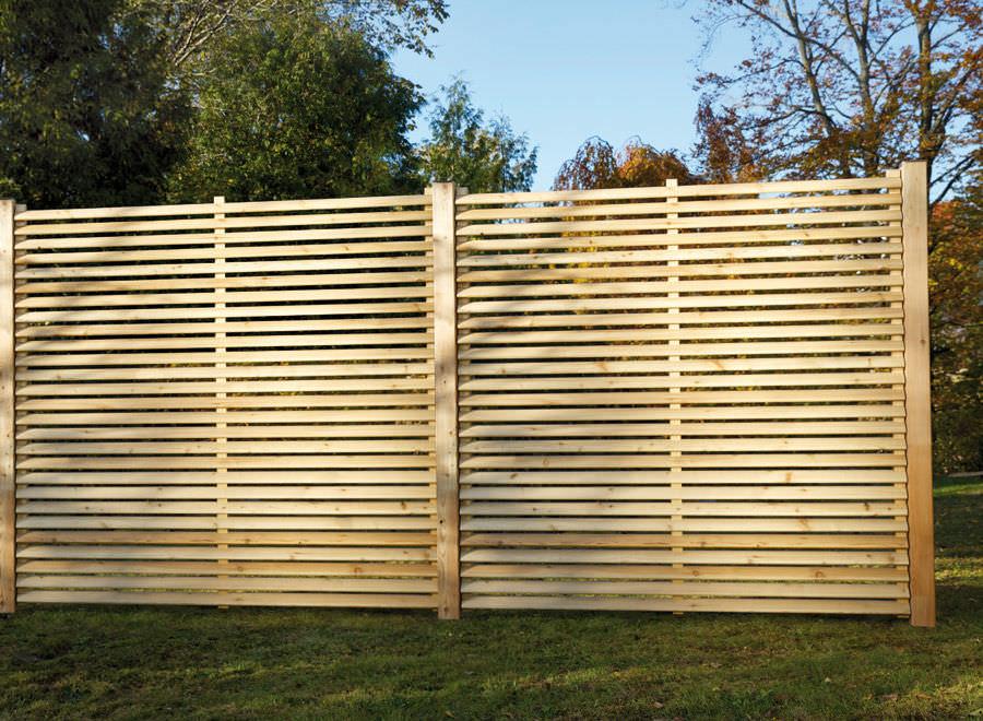 Rete frangivista pannello / in legno - ELLIPSO - Braun Wuerfele