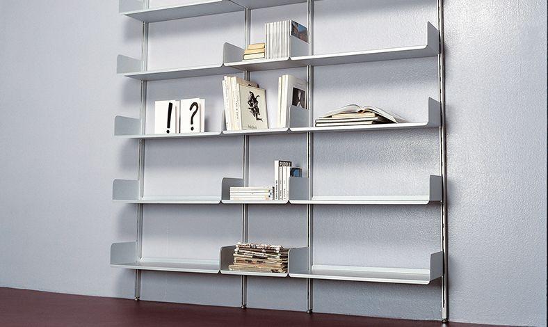 Cabina Armadio Kriptonite : Scaffale modulare a muro moderno in alluminio k kriptonite