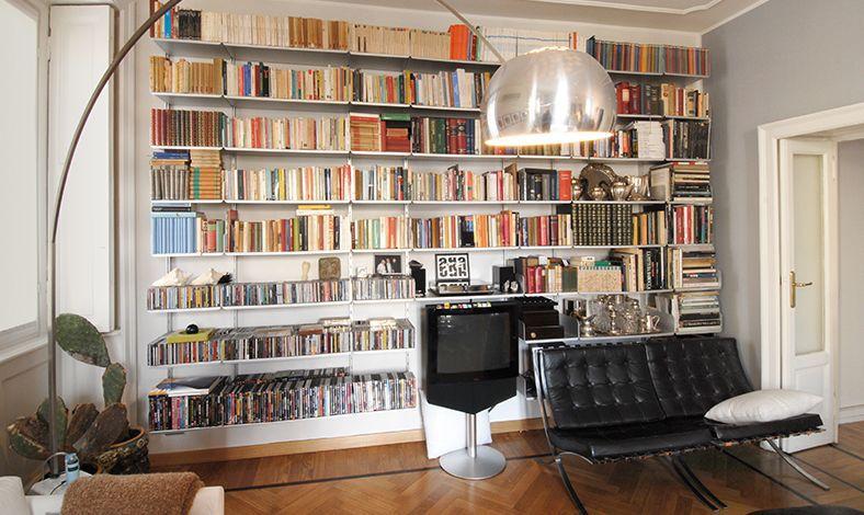 Cabina Armadio Kriptonite : Libreria modulare moderna in alluminio k kriptonite