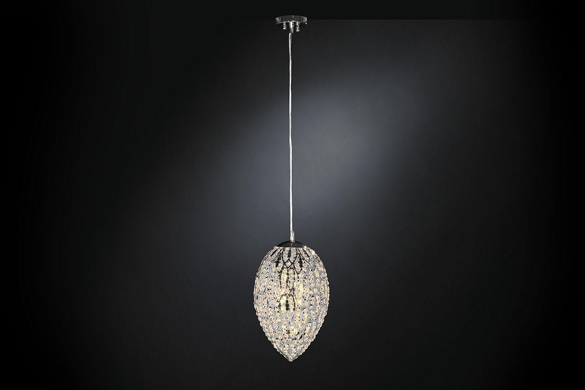 lampada a sospensione / design originale / in cristallo / in ... - Larabesque Lampade