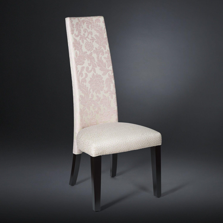 Sedia moderna / con schienale alto / imbottita / in faggio - BASIC ...