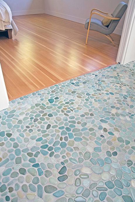 Mosaico da interno / da bagno / da pavimento / in pietra - PEBBLE ...