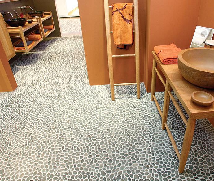 spesso Mosaico da interno / da bagno / da pavimento / in pietra - PEBBLE  PD11