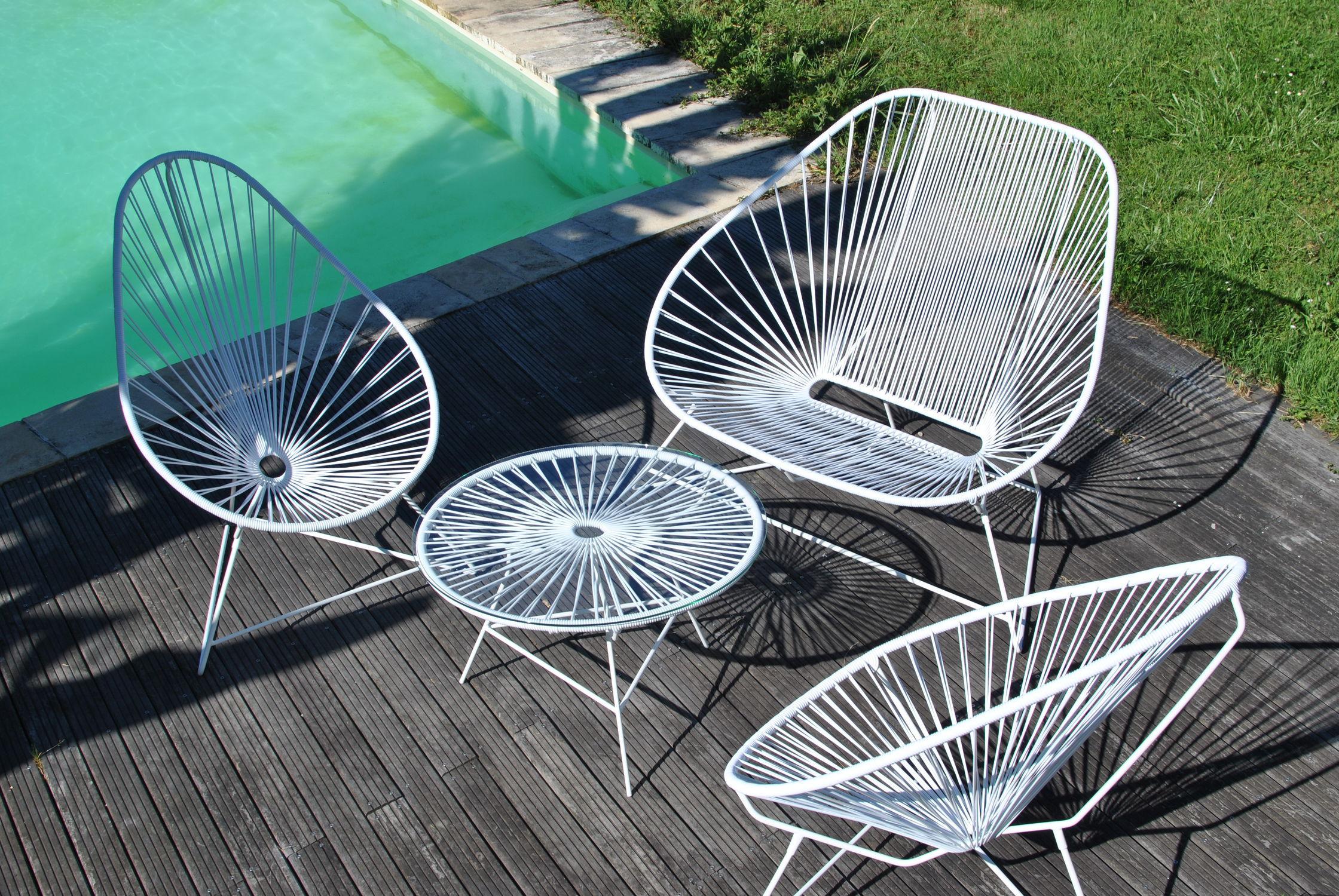 poltrona design originale in plastica in acciaio verniciato con poggiatesta acapulco boqa with sedia acapulco