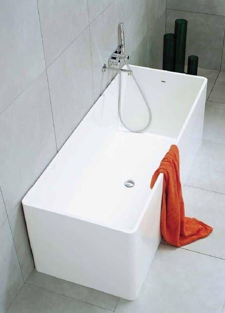 vasca da bagno da appoggio in pietraluce wash mw170 by giulio cappellini