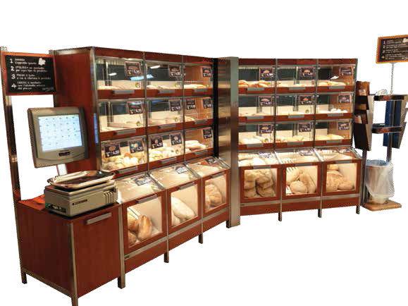 Souvent Espositore per pane / in legno / per negozio - PANINO CASSETTO  VO36