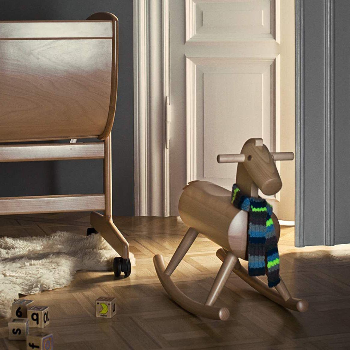 Cavallo A Dondolo Design.Cavallo A Dondolo In Legno Mokuba By T Okamura E Marquardse