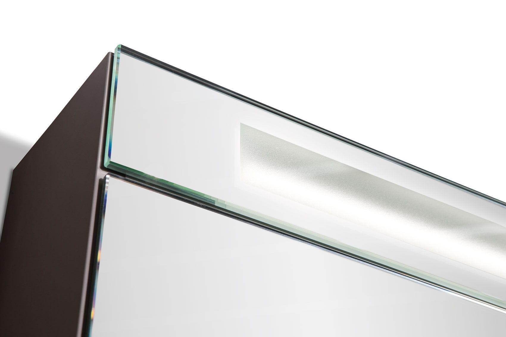 Mobile pensile per bagno con specchio - XENIA - FRAMO
