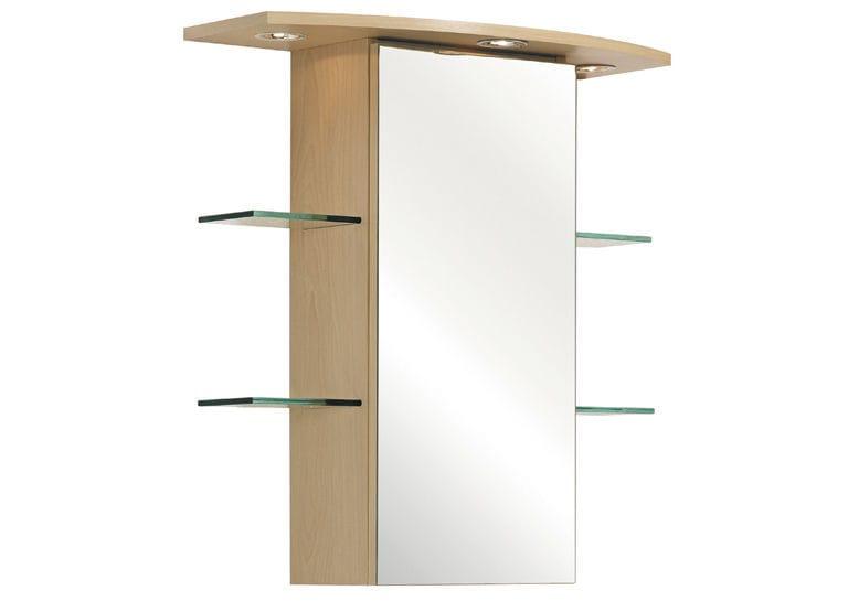 Mobile pensile per bagno con specchio zara pelipal